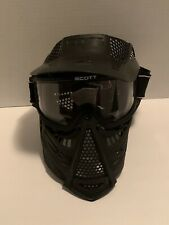 *USED* Scott Outdoor Paintball Face Mask Goggle System - Black - USA Made