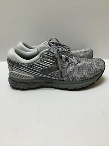 Brooks Adrenaline GTS 19 1102941D126 Running Shoes  Men's Size 11.5 D Gray