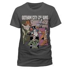 Official DC Comics Batman Gotham City Villains T Shirt Joker Penguin Small NEW