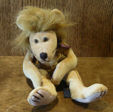 """Boyds Plush LION  #51900 LANCE, , 10"""" NEW/Tag From Retail Store Jointed"""