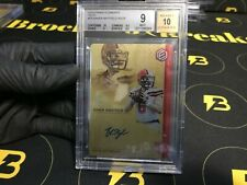 BAKER MAYFIELD 2018 Elements Gold Autograph /25 BGS 9/10 MINT Browns