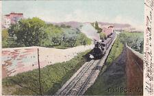 * ALBANO LAZIALE - Partenza del Treno e Villa Venosa 1904