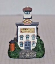 Liberty Falls Fire Station Ah10 Figurine 1992 Excellent Condition! Ships Free!