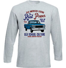 VINTAGE AMERICAN FORD TRUCK - NEW COTTON T-SHIRT