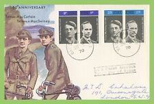 Ireland 1970 Thomas MacCurtain & Terence MacSwiney pairs First Day Cover
