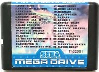 32 in 1 Game Cartridge 16BIT MD Game Card For Sega Mega Drive for PAL and NTSC