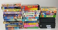 Lot of 32 VHS Children's Classics Disney Scooby Land Before Time Casper Sailor M