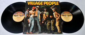 U.S. Pressing VILLAGE PEOPLE Live And Seazy DOUBLE LP Vinyl Record