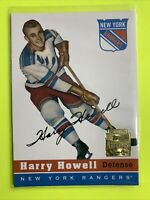 2002-02 Topps Archive Rookie Reprints #4 Harry Howell New York Rangers