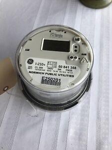 Electric Meter GE Tantalus Smart Meter  I-210 CL200  Submeter