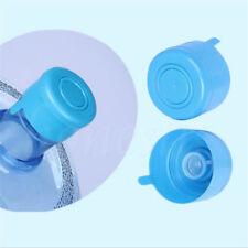 2PCS 3&5 Gallon Replacement Water Bottle Snap On Cap Anti Splash Peel 55mm