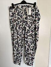 M&S Ladies Camo Print Loungewear Bottoms, Pyjama Bottoms Size 22 BNWT