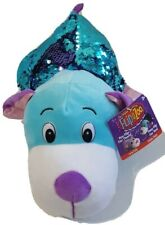 """FlipaZoo 14"""" Large Carys Kitty and Pebbles PuppySequin Toy Stuffed Animal"""
