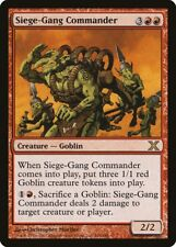 Siege-Gang Commander 10th Edition NM-M Red Rare MAGIC GATHERING CARD ABUGames