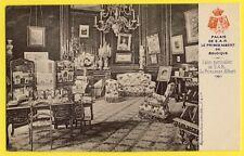 cpa BELGIQUE PALAIS Salon particulier de Son Altesse Royale La PRINCESSE ALBERT