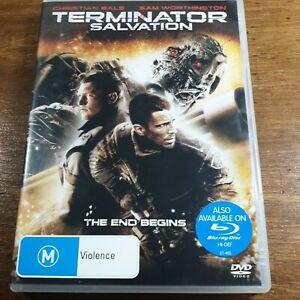 Terminator SALVATION  DVD R4  Like New! FREE POST