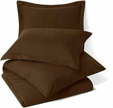 Solid Uni Mikrofaser Nur Bett Kissenbezug Braune Farbe Set Mit 2 Best Für Gift