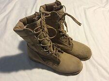 NOS Men's 6.5 Altama PJ 10-03 5400 Tan Leather Canvas Military Jungle Boots