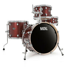 Natal Arcadia Jazz Bop Drum Kit Red Sparkle