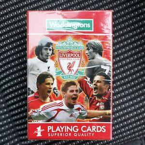 Liverpool FC Waddingtons No.1 Playing Cards