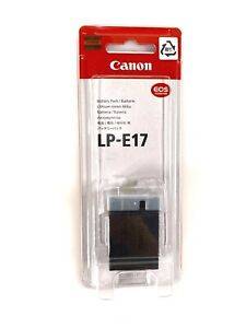 Brand New Genuine Canon LP E17 Battery Pack for Canon Rebel