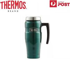 NEW Thermos Stainless Steel King Green Travel Mug 470ml