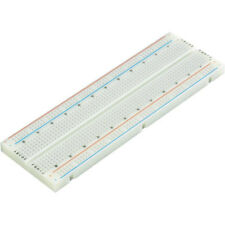 "Solderless Plug-In Breadboard 830 Tie Points, 6.5"" x 2.1"" - Rohs Compliant"