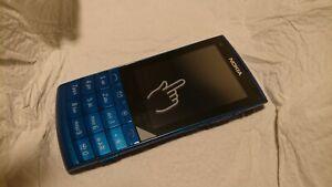 Nokia  X3-02 - Blau (Ohne Simlock) Handy  unbenutzt!!  Touch and Type   unlocked