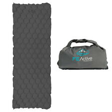 FE Active Camping Sleeping Pad Pouch-Inflate System Lightweight Water Resistant