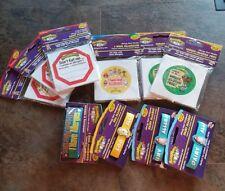 Lot Of Allermates Kids Allergy Peanut Dairy Gluten Bracelets Stickers Lot Of 10