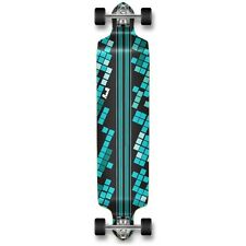 Yocaher Drop Down Black Digital Wave Longboard Complete