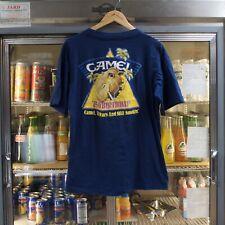 Vintage 1988 Camel Cigarettes 75th Birthday T Shirt Size Large