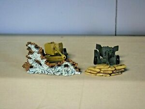 Unmarked Anti Tank Guns Set of 2 and Accessories (T-112)