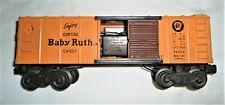 Vintage Lionel #4454 BABY RUTH Box Car - 1946-1949 Electronic Control -VG Cond