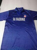 1990-91 Fiorentina Maglia Home  SHIRT MAILLOT TRIKOT- La Natione