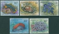 Cook Islands Penrhyn 1993 SG489-493 Marine Life 5 values 1993 release MNH
