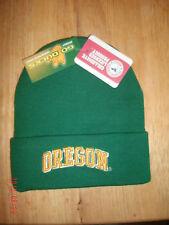 NCAA Oregon Ducks Cuffed Beanie Winter Hat Cap NWT Free Shipping!