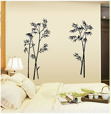 Removable Wall Stickers Vinyl Decal Art Mural DIY Home Decor Bamboo Letter Quote