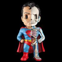 XXRAY x DC COMICS - SUPERMAN DISSECTED VINYL ART FIGURE (10cm) [GOLDEN AGE]