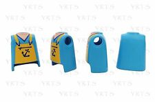 YRTS Playmobil Serie 8 Lote 4 Torsos Pescador ¡New!