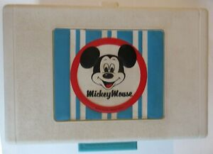 Vintage Disney Mickey Mouse phonograph Record Player General Electric