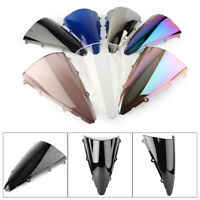 Smoke Motorcycle Front Windshield Screen Shield For YamahaYZF1000R12002-2003