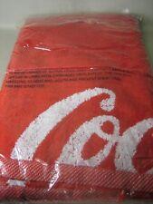 Coca-Cola bath towel, NEW