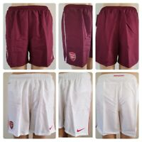 Boys` New Nike Official ARSENAL Football Shorts Age 6 to 15 Dri Fit Licensed