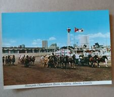 "Canada ""Chuckwagon Races"" Calgary Stampede Week Unused"