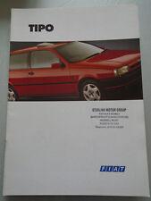 Fiat Tipo range brochure May 1994