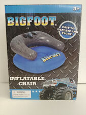 BIGFOOT Inflatable Kids Chair w/ BIGFOOT Truck Graphic FREE SHIPPING