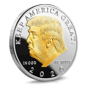 2020 President Of United States Donald J. Trump  Embossed Eagle Coin Collection