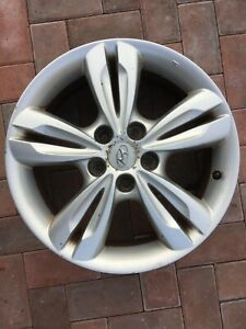 "HYUNDAI ix35 17"" SPARE ALLOY WHEEL RIM 52910-2Y200 6.5JX17 GENUINE OEM PART #1"