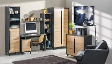 Moderne Büro Zimmer Set Office Einrichtung Komplett Set Möbel Tisch Schrank 6tlg
